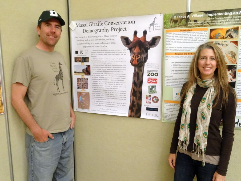Dr. Derek Lee and Monica Bond of Wild Nature Institute present Masai Giraffe Conservation Demography Project at ZACC