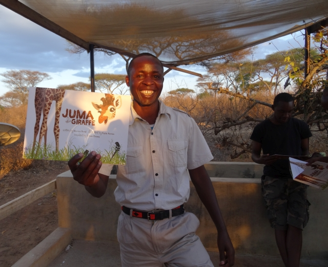 Nature Guides with Juma the Giraffe_Wild Nature Institute